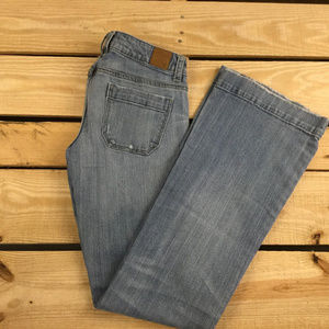 American Eagle Outfitters Women Flare Jean Size 0